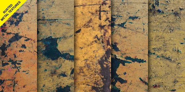 Rusted Scratched Metal Textures