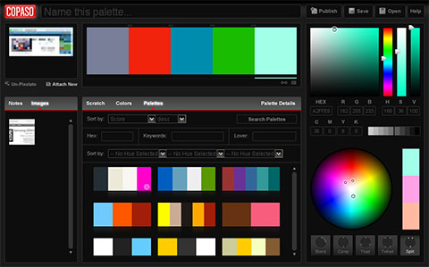COPASO - Color Palette Generator