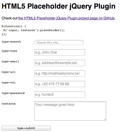 17 jQuery Plugins that will Make your Life Easier