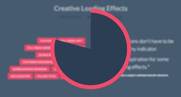 Creative Loading Effects
