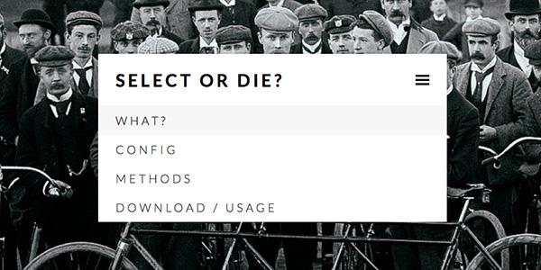 Select or Die