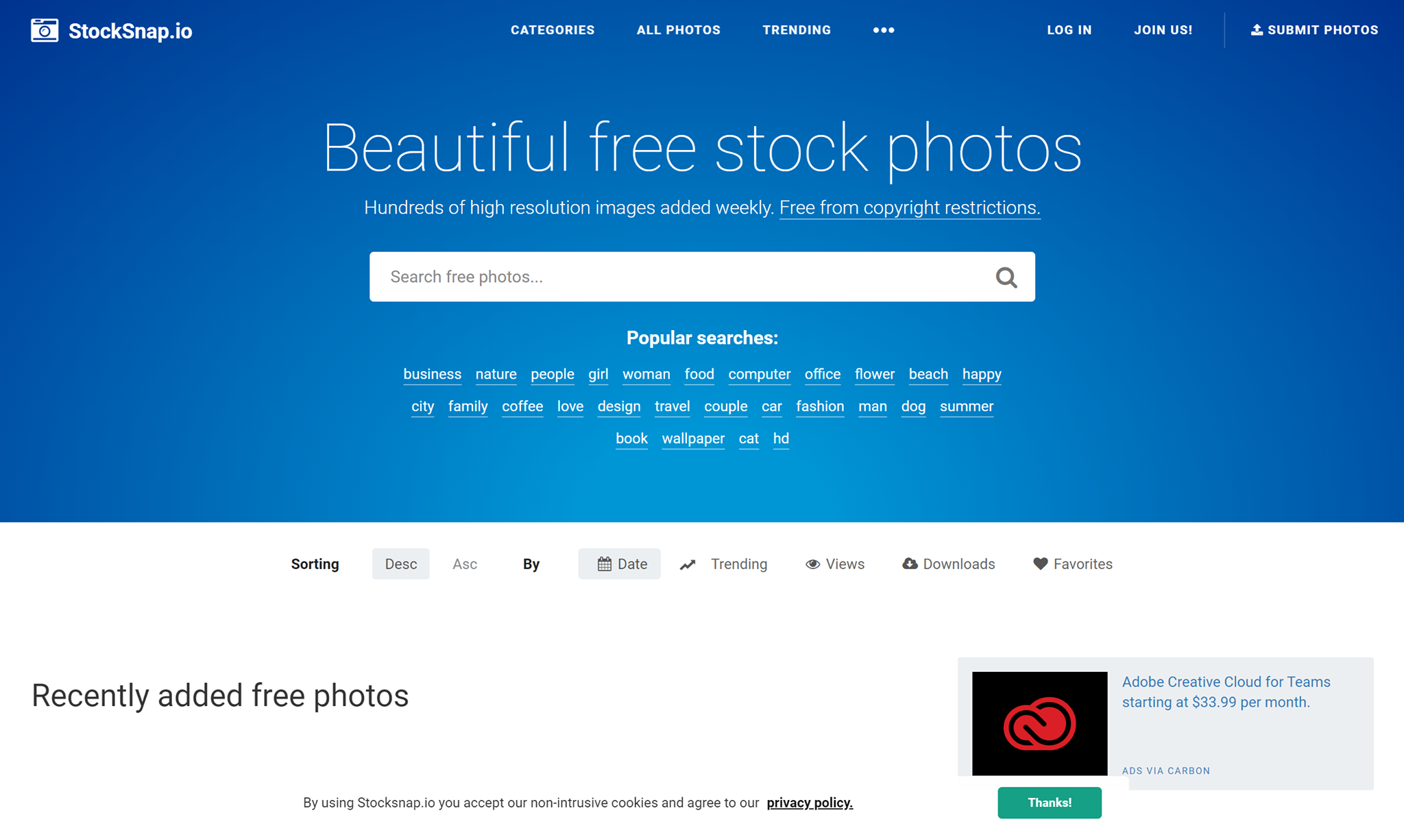 stocksnap website free stock images