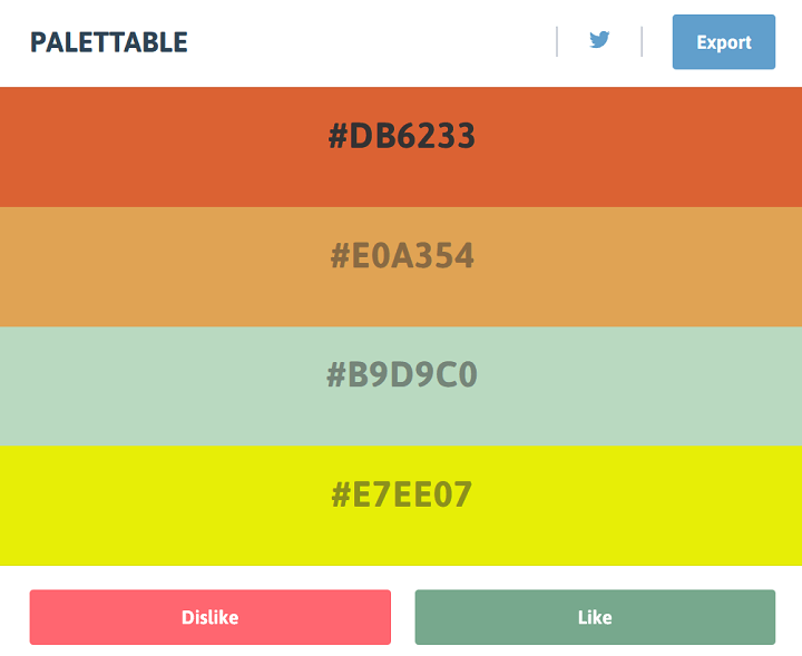 palettable color palette generators